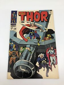 The Mighty Thor Marvel Comic #156 Sept 1968
