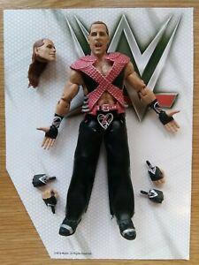 WWE Mattel SHAWN MICHAELS Ultimate Edition Wrestling Figure