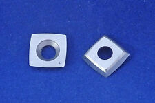 "15mm (.59"") 2""(50mm) Radius Carbide Insert SQ15RA2 Cutter for Woodturning Tools"