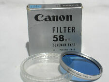 CANON 58mm CCB12 3x - filter with case CCB 12 3X