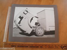 """1950's photo Cab Over Engine Truck Library school visual display 13x16"""" CA"""