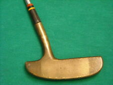 """""""VINTAGE"""" SPALDING GNB CASH-IN BRASS PUTTER 35"""" - COLLECTIBLE AND USEABLE!"""