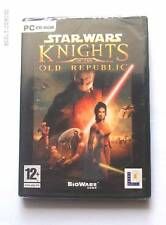 Star Wars Knights of the old Republic KOTOR Pc Windows English NEW sealed