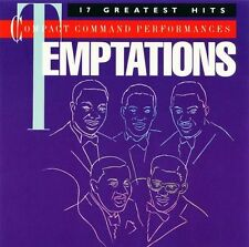 THE TEMPTATIONS - 17 Greatest Hits (CD 1985) USA Import EXC Best of
