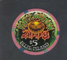 New listing Ellis Island, Las Vegas $5 Halloween 2008 Casino Chip - Uncirculated