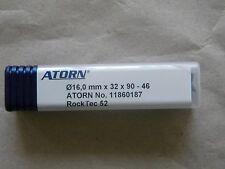 VHM Schaftfräser  16,0 x 90,0 x 46,0 mm von ATORN Typ Rock Tec 52, 4 Zähne