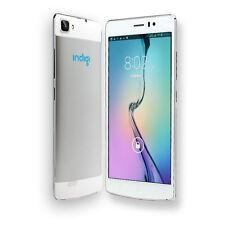 "Indigi 5.5"" UNLOCKED 3G SmartPhone Android 4.4 Dual-Sim Dual-Core Dual-Cam White"