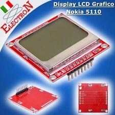 Display LCD Grafico Nokia 5110 - 84x48 pixel Retroillum. Bianca Modulo x ARDUINO