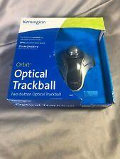 new KENSINGTON ORBIT Optical Trackball Wired Mouse USB Marble 64327