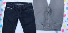 Diesel Zatiny & J Brand Kane Jeans 33x32 Slim Straight Bootcut made in the US