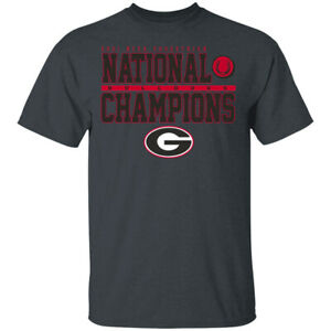 Men's Georgia Bulldogs NCEA Equestrian National Champions T-Shirt S-5XL