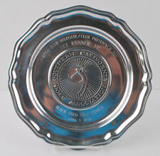 2002 Southern California Golf Association Award Plate Trophy Wilton