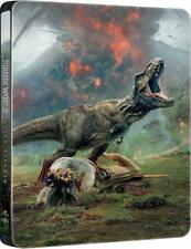 Jurassic World: Fallen Kingdom (STEELBOOK) (Blu-ray 3D + Blu-ray) (Region Free)