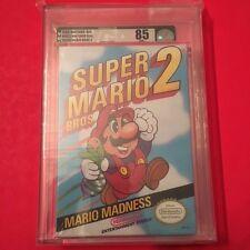 Super Mario Bros 2 II BRAND NEW & Factory Sealed VGA 85 for NES Nintendo!