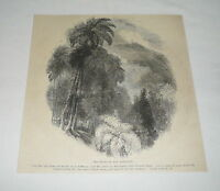 1879 magazine engraving ~ THE MOUNT OF THE ASCENSION