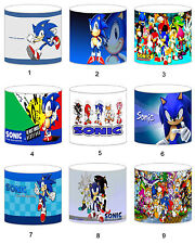 Sonic The Hedeghog Childrens Lampshades Ceiling Light Table Lamp Curtains Duvet