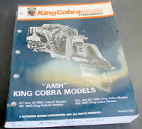 1991 OMC AMH King Cobra 351 454 502 Stern Drive Engine Service Manual 508149