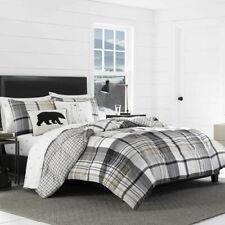Eddie Bauer Normandy Plaid Comforter Set, King,