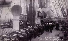 Scarborough. The Channel Fleet by J.J.Cox, Scarborough. Heave Ho!