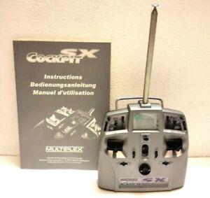 Multiplex Fernsteuerung Cockpit SX 7-Kanal 35 MHz, Nr. MPX25150