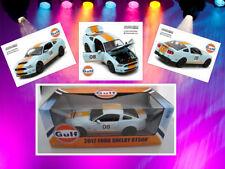 Ford Shelby GT500 Gulf-Version  2012  Greenlight  1:18  NEU