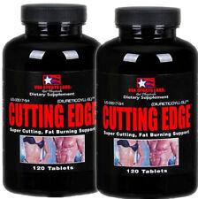 2 x USA LABS SPORT CUTTING EDGE Legal Fat Burner 120 Tabs Fast Rapid Weight Loss