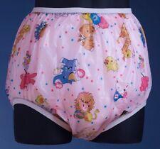 Acmedical VINYL PVC Plastique Adulte Bébé AB ABDL Diaper Pants Couches Med Windelhose