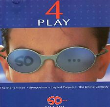 4 PLAY | So for him | Very good condition | Music CD |  Free shipping
