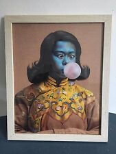 After the Green Lady, Chinese Girl, Vladimir Tretchikoff. Framed Retro Print