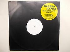 """Shabba Ranks - Trailor Load A Girls - 4 track White label Promo only 12"""" / Mint"""