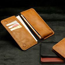 Case Cover Clutch for Phones Shockproof Magnetic Flip Leather Wallet Card Slot
