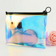 Laser Transparent Cosmetic Large Capacity Travel Waterproof Clear Makeup Bag