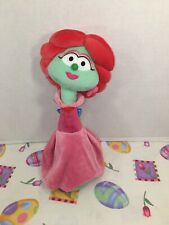 "VGUC-11"" Gund Veggie Tales Sweetpea Beauty Petunia Rhubarb Plush Stuffed Toy"
