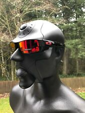 NEW! OAKLEY GASCAN Sunglasses Polished Black / Prizm Ruby OO9014-4460