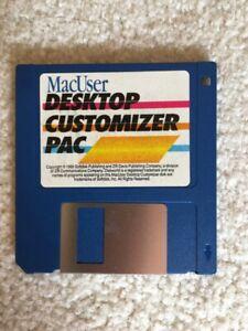 MACUSER DESKTOP CUSTOMIZER PAC- 15 FUN TOOLS for SYSTEM 7.0  - 9.2.2