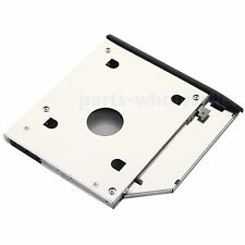 2nd 9.5mm HDD SSD Hard Drive Caddy Adapter For HP EliteBook 2530p 2540p + bezel