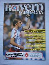 Orig.PRG   1.Bundesliga   1985/86   FC BAYERN MÜNCHEN - FORTUNA DÜSSELDORF ! TOP