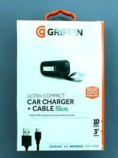 Griffin USB Car Charger Adapter Powerjolt + Micro-USB Cable Samsung Huawei HTC