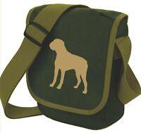 Boxer Dog Bag Silhouette Dog Walkers Shoulder Bags Handbags Birthday Gift