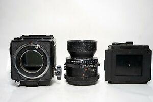 Mamiya RB 67 Professional + Mamiya-Sekor 180mm lens + back 6x7
