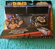 "NEW WWE MATTEL 2"" RUMBLERS ""JOHN MORRISON"" SMACK ATTACK PLAY SET WRESTLING [MIB]"