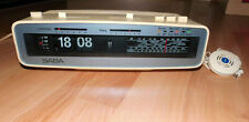 Vintage-Klappzahlen-Klappzahlenwecker-Radiowecker-Flip Clock-Saba Automatic H