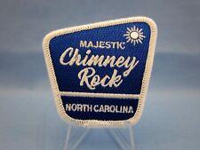 """""""CHIMNEY ROCK NORTH CAROLINA"""" - NC STATE PARK - SOUVENIR SEW ON PATCH  ~L@@K~"""