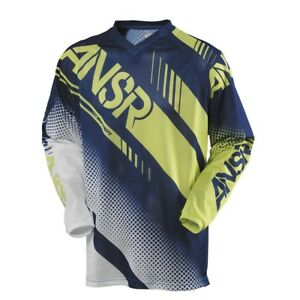 XL Answer Syncron AIR Vented MX Motorbike Jersey Husaberg Blue Green $49.95