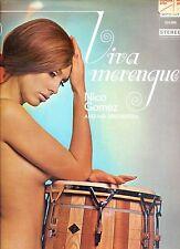 NICO GOMEZ viva merenque HOLLAND OMEGA EX LP SEXY COVER