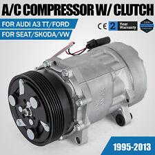 Klima Kompressor für Audi Ford Seat Skoda VW 1.4 1.6 1.8 1.9 2.0 2.3 2.8 3.2