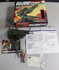VTG 1982 GI Joe HAL Artillery Laser Complete Blueprint Box MINT unused decal