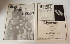 1969 Atlanta Pop Festival_ Original Concert Program_Led Zeppelin J. Joplin,etc