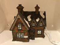 """Department 56 Dicken's Village """"Barmby Moor Cottage""""  Retired 2000"""