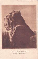 """ARTE - RUPERTO BANTERLE """"Anelito fuggente""""  calcografia Cavadini - Verona n. 24"""
